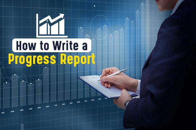 Progress report,assignment help