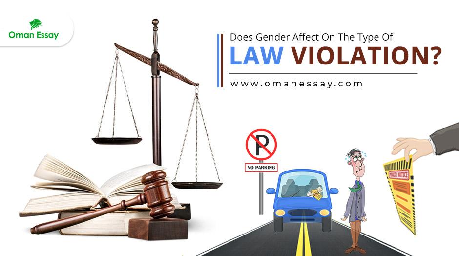 Does Gender Affect On Law Violation