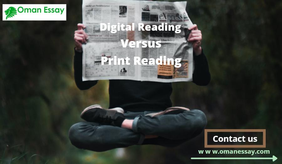 Digital Reading Versus Print Reading